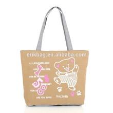 2015 wholesale reusable canvas bag,OEM cotton tote bag,canvas shopping bag