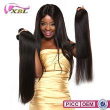 XBL New Arrival Top 5A+ Machine Weft Human Hair Brazilian Virgin Hair