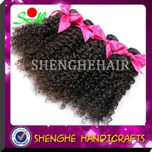 Hot new products for 2015 Indian 5a grade afro kinky curly hair