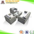 ( sp- os322) moderno seccional sofá de ratán poli muebles de jardín
