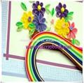 Diy colorido papel quilling diseños/de papel quilling imagen/de papel quilling tarjeta