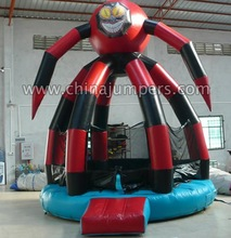 price including repair kit and blower China inflatable No.1toys of spiderman HOUSE jumper 1