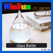 2015 Hot Novelty Items Weather Forecast Storm Glass Storm Drops Bottle Novelty Gift
