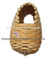 super cheap bamboo woven/weaving bird house/bird nest