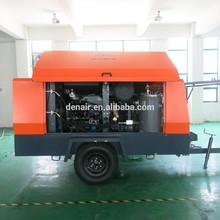 Standard model diesel portable air compressor with brake!