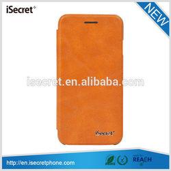 iSecret Stylish protective folio smart filp soft pu wallet leather gun case
