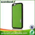 Custom eco-friendly phone case for iphone 6,high quality pu phone case for iphone 6 leather case