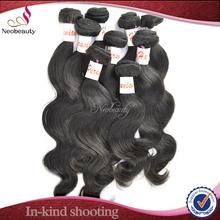 Neobeauty high class virgin mongolian human hair extension