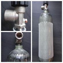 CNG cylinder type 3 for vehicle, carbon fiber cylinder, ISO11439 301