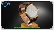 Stainless steel 316l classical men gold watch sport with 5/10ATM waterproof