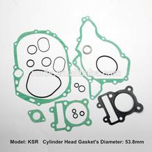 KSR for motorcycle engine full gasket set