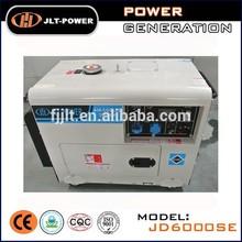 50hz single phase diesel fuel silent generator 5kw