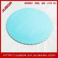 scalloped edge gold round cardboard cake circles