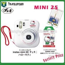 Portable Fujifilm Instant Camera Cheki Instax Mini 25 Hello Kitty