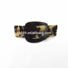 fashion barrettes with black clip