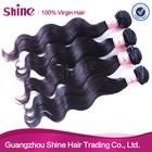 Alibaba wholesale virgin indian remy hair natural black body wave 100% virgin indian remy temple hair bundles