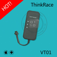 Thinkrace hot-selling easy hide gps tracker for car vehicle VT01