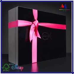 Paper Material and Display Industrial Use clothes packaging / apparel box / clothing box