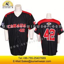 White Color New Designed Custom league baseball jersey