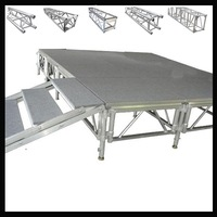 Smart square stage truss exhibition truss system display