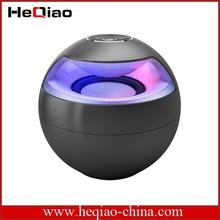 Novo produto 6 w stereo true sem fio led bluetooth speaker