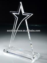 popualr clear acrylic trophy award