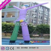 Outdoor advertising inflatables cheap desktop air dancer