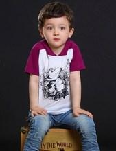 New hot sale children wholesale t shirt printing