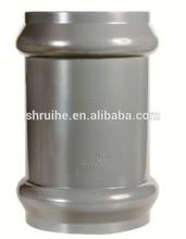 BS EN1452/ISO 4422 PVC fittings PVC rubber coupling F/F