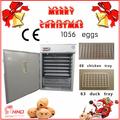 وافق ce التلقائي حاضنة تفريخ بيض سعر/ 1056 للحصول على بيض تفريخ الدجاج