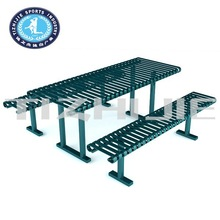 Factory Direct sale Used Metal garden table and chair for sale
