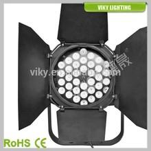 LED Spot Light 36x3W RGB barn door lighting