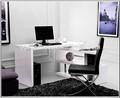 madeira mdf pu de alto brilho vermelho paiting de alta gloss prateleira de madeira para escritório