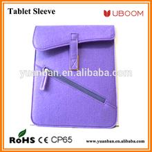 Fibre felt tablet sleeve/tablet bag for IPad mini/Air