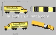 Factory Price OEM Plastic truck usb,usb flash drive,usb stick with CE/FCC/ROHS