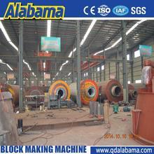 overseas door-door service CE approved new condition aac light weight block machine in myanmar