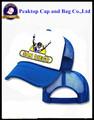 de calidad superior de promoción baratos snapback lindo de malla de sombrero de béisbol