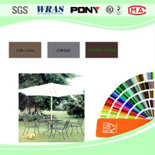 Exterior Furniture polyester TGIC powder coating paint