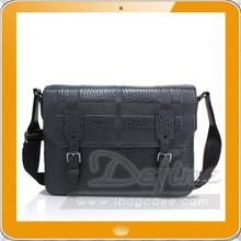 Designer classic fashion leather messenger bag