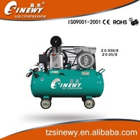 Z0.036/8 belt-driven portable prices air compressor