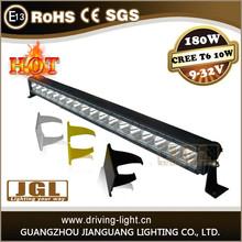 cree 10w single row led work light bar off-road jeep car led lights bar waterproof