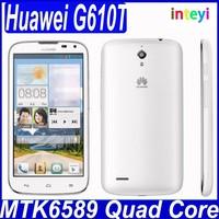 New Original Huawei G610T Smartphone MTK6589M Quad Core Android 4.2 phone 5'' IPS 1GB RAM 4GB ROM Dual SIM GPS