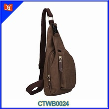 Custom High Quality Leisure Sport Waterproof Canvas Military Satchel Bag