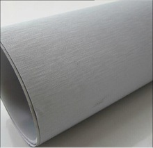 Free sample decorative and protective brushed car wrap vinyl film with PVC material