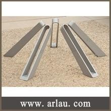 (BR-001) Street Park Cast Aluminium Bicycle Park Stand