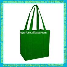 alibaba china promotion eco gift bag with ribbon handle
