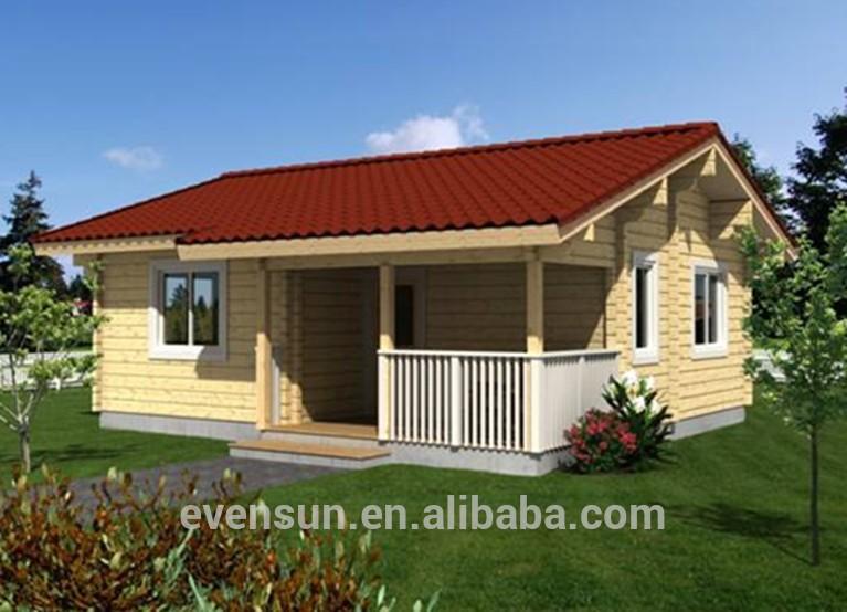 kualitas terbaik portabel rumah kayu dengan gaya amerika