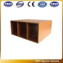 PVC square colunm YXF-13 WPC pillar wood plastic materials