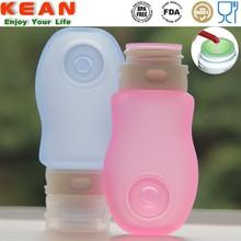Wholesale Mini Food Grade Silicone Plastic Squeeze Dropper Bottles