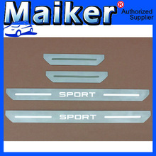 304 Stainless Steel Scuff Plate Door Sill for R R Sport 2010